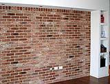 muro con mattoni facciavista