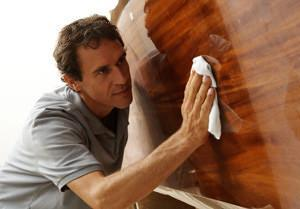 Lucidatura del legno