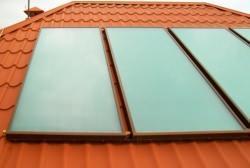 Pannelli solari a tetto