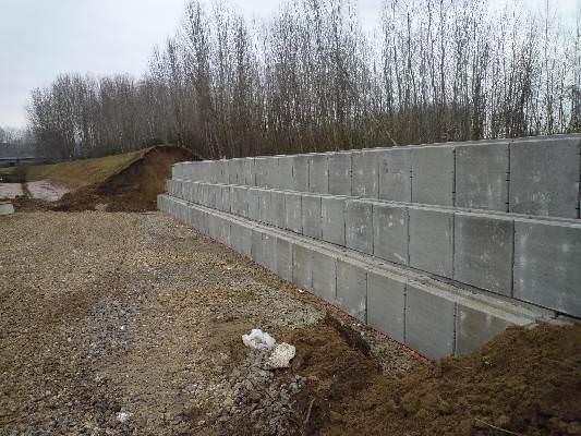 Preventivo Muro Cemento Armato.Muretti Contenimento