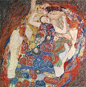 Friul Mosaic, La Vergine