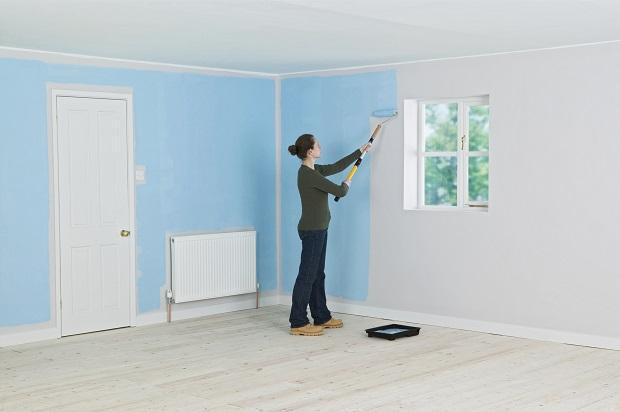 Arredare con i colori - Tecnicas para pintar una habitacion ...