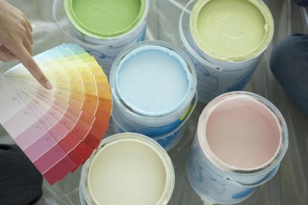 Scegliere i colori pastello per arredare