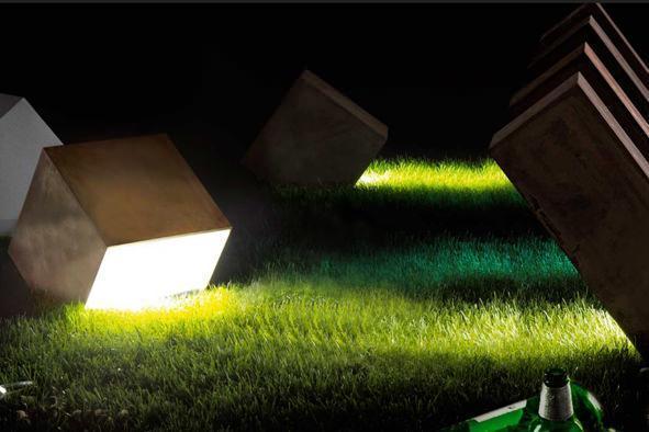 Garden design: luci