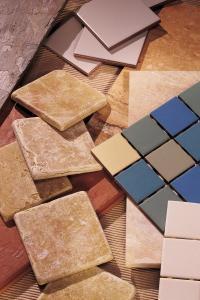 Materia e colore dei pavimenti