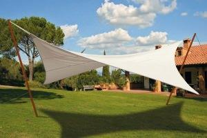 Tessuti per vele ombreggianti modificare una pelliccia for Tenda vela ikea