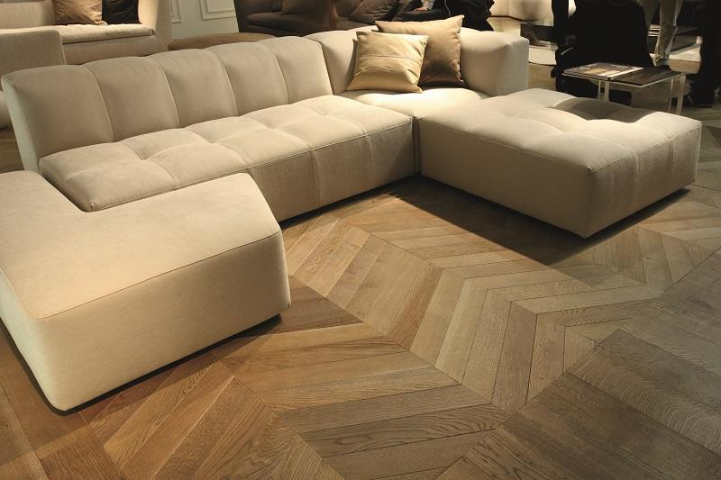 Parquet a spina ungherese rovere naturale