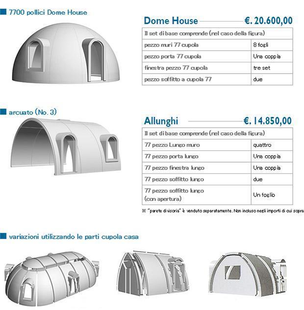 Case di polistirolo for Polistirolo prezzi