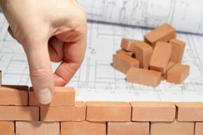 simbolo di costruzione edifici