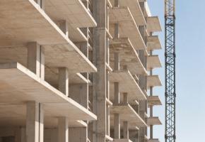 opera edilizia in costruzione