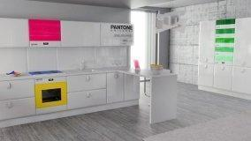 Elettrodomestici e colore in cucina