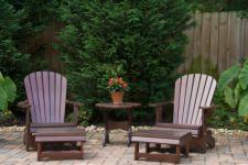 Sedie da giardino con tavolino