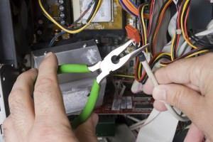 lavori sull'impianto elettrico