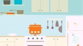 Nuove tendenze nella cucina che si trasforma in soggiorno