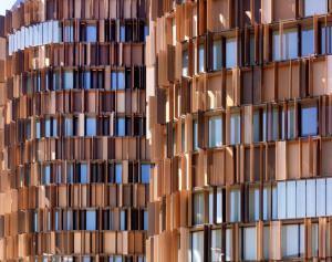 Schuco: Sistema di facciata con profili AWS 65 -Vista dell'edificio U15