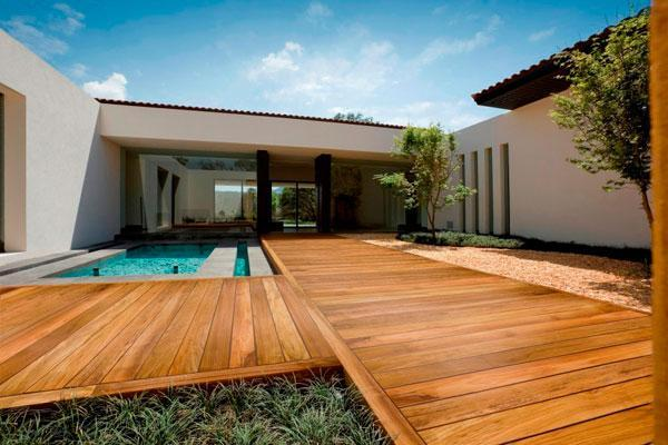 Pavimento in legno esterno Fracaros