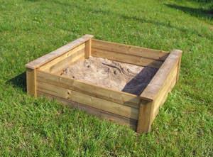 Sabbiera per bambini for Ikea cassetta legno