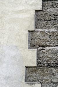 Intonaco e muratura