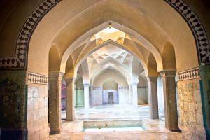 Antico hammam ad Esfahan in Iran