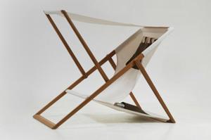 X Z Chair, sdraio con tasche