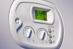 pannello controllo caldaia