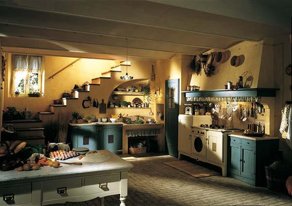 Cucine country unire vecchio stile e tecnologia for Cucina di campagna inglese