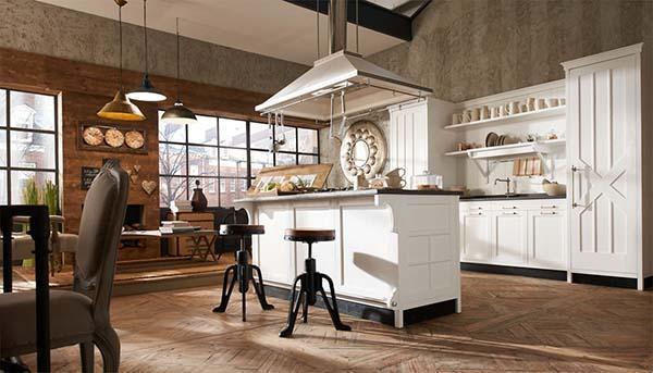 Cucine country: unire vecchio stile e tecnologia
