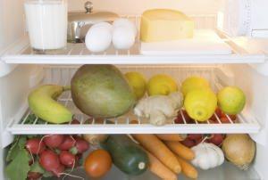 interno del frigorifero