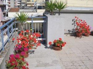 ringhiera e parapetto in muratura di un terrazzo ad uso esclusivo