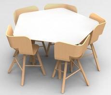 Colé Italian Design Label: Tria Table