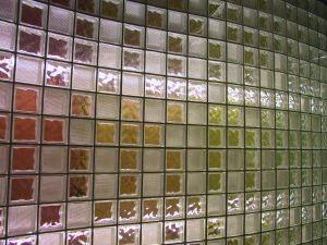 Decorazioni col vetrocemento