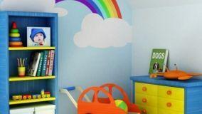 Sicurezza nella camera di un bambino