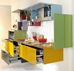 Basi sospese in cucina e nel living - Misure basi cucina ...