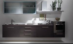 Basi sospese in cucina e nel living - Cucine sospese da terra ...