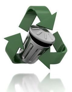Riciclo dei rifiuti.