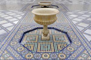 fontana in casa araba