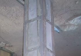 Esempio di cerchiatura su pilastro in C.A.