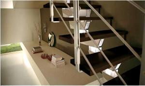 Rintal: Rintal Stair System - Dettaglio di una soluzione