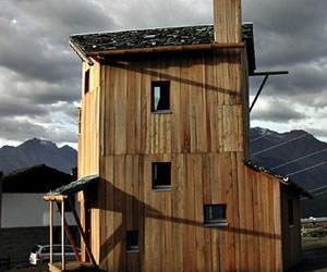 casa solare passiva val d'Aosta