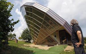 Heliodome, casa solare Eric Wasser
