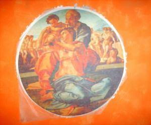 h2art: Materico - Realizzazione murale in una chiesa