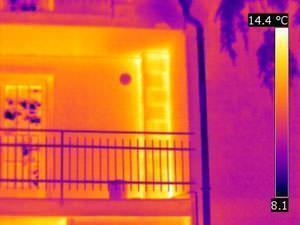 ponti termici di un edificio