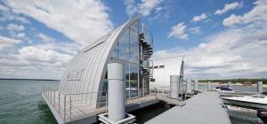 Prefa: Rivestimento in alluminio Case galleggianti