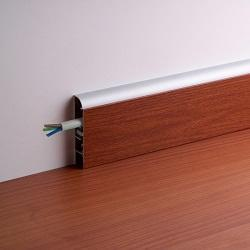 Battiscopa portacavi for Ikea coprifili