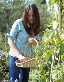 accostamento fiori e ortaggi