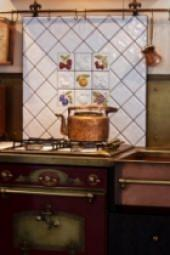 Cucina in stile coloniale