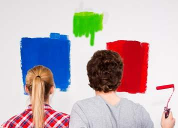Pitture a confronto:la prova del colore