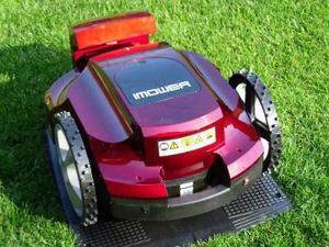 robot tagliaerba con mulching