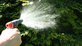 Irrigazione e disidratazione piante