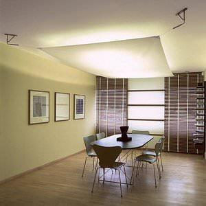 Soffitti tesi domestici for Teli decorativi